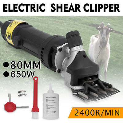 650W Black Electric Shearing Clippers Shears Comfortable Compact Powerful GREAT