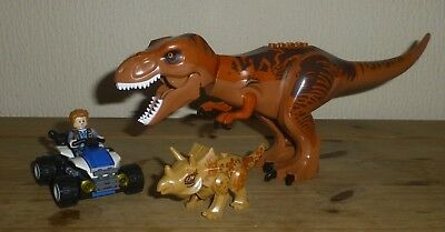 JURASSIC DINOSAUR PARK WORLD - T REX BROWN BREAKOUT AND MORE fits lego A