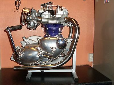 motor cycle triumph 650-750 engine stand t120-t140-tr6-6t-etc
