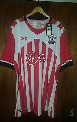 774ed30b4 SOUTHAMPTON FC HOME Football Shirt size:4XL Under armour. BNWT ...