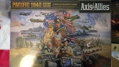 Avalon Hill Games - Axis and Allies Pacific 1940 Second Edition (War Board Game)
