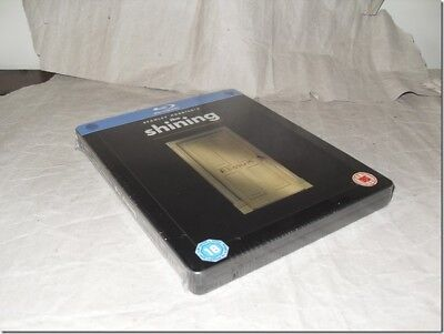THE SHINING STEELBOOK blu-ray UIK RELEASE NEW SEALED RARE