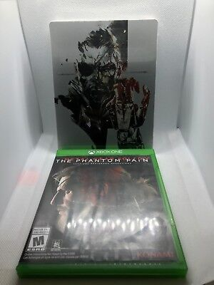 Metal Gear Solid V: The Phantom Pain SteelbookEdition (Microsoft Xbox One, 2015)