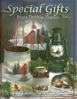 Special Gifts Vol 2 Debbie Toews Painting Pattern Book NEW