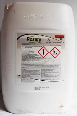 Rosate 360 TF Glyphosate Weedkiller 1 x 20  Litre Strong Professional Herbicide
