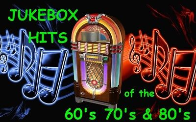 """1,500+ """"BEST JUKEBOX MIX"""" SONGS - 60's 70's 80's -MP3 FORMAT- PRE-LOADED to USB"""