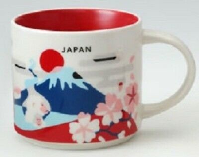Starbucks Japan Mug Cup, You are here City Collectible