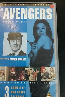 THE AVENGERS VHS VIDEO rare limited edition 0678 of 10,000