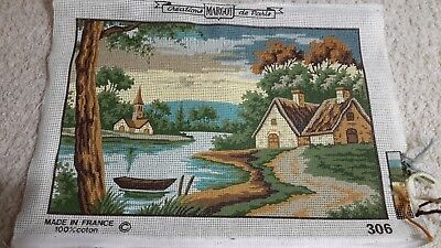 Pretty  Scenic Tapestry Canvas by Margot