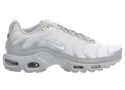8f8114af6c4 Nike Air Max Plus Shoes Platinum Gray White 852630-029 Men s NEW