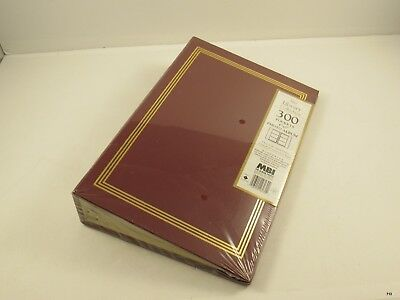Brand New MBI Library Collection 300 Pocket Photo Album 4x6 inch : Maroon
