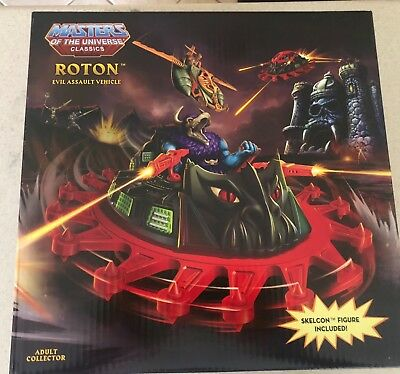 MOTUC, Roton, Masters of the Universe Classics, sealed box, MISB, He-Man
