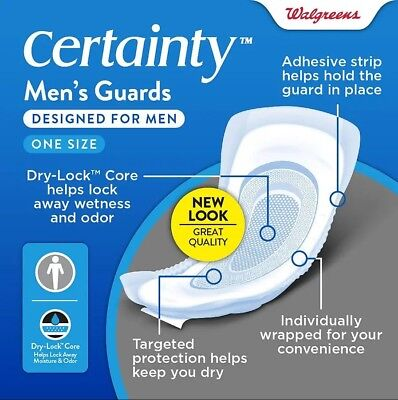 WALGREENS CERTAINTY WOMEN'S Bladder Control Pads, Maximum