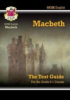 GCSE English Shakespeare Text Guide - Macbeth by CGP Books (Paperback, 2002)
