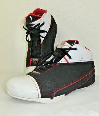 cheap for discount 27363 f921c Converse Wade 1.3 Mens Size 10 Black White Red All Star Mid 1Z287 X-Mas