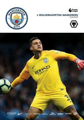 * 2018/19 - MAN CITY v WOLVES (14th January 2019) *