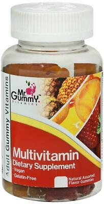MR  GUMMY MULTIVITAMIN Vegan Dietary Supplement Assorted Gummies
