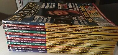 Star Trek The Magazine 12 Issues May 1999 - July 2000 (includes Premiere)