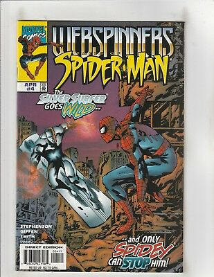 Webspinners: Tales of Spider-man #4 VF/NM 9.0 Marvel Comics Silver Surfer app.