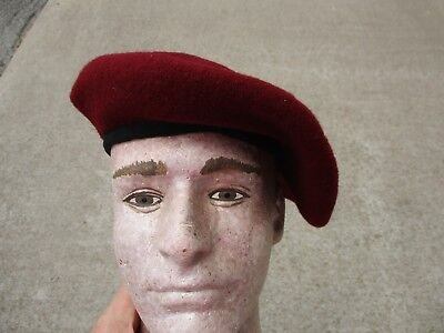 WWII British Airborne Maroon Beret Reproduction