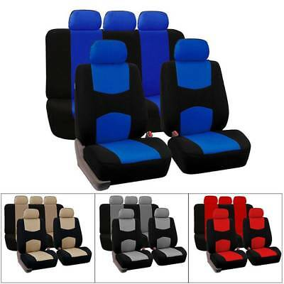 Universal Car Seat Covers Comfortable Wear-resistant Full Breathable 9pcs/Set FN