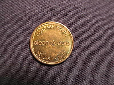 clean-A-auto Carwash Token - clean-A-auto Car Wash Coin - Carwash Token