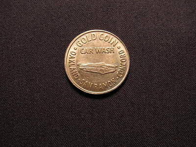 Gold Coin Car Wash Token - Oakland, San Ramon, Concord CA Car Wash $1 Coin