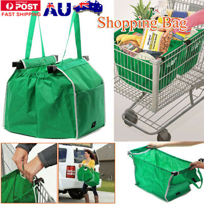 Grocery Shopping Bag Foldable Tote Eco-friendly Reusable Supermarket Large Bags