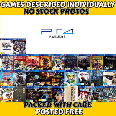 🎮PlayStation 4 PS4 ●❦ ASSORTED AWESOME GAME TITLES ❦● Your Choice  17/01/19