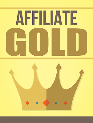 Affiliate Gold PDF ebook with Resell Rights  Free Shipping.