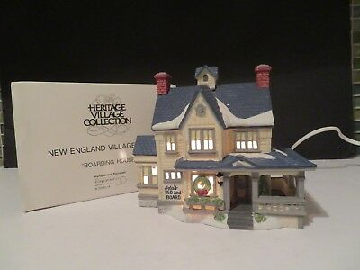 Dept. 56 New England Village Boarding House 5940-4 In Original Box