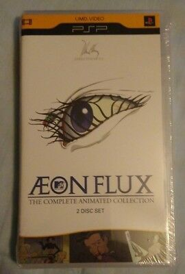 Aeon Flux: Complete Animated Collection (Sony PSP UMD Video) Brand New Sealed