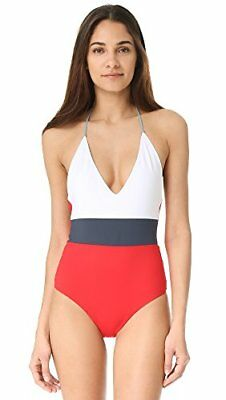 b88d542a27 TAVIK CHASE COLORBLOCK One Piece Swimsuit Reversible White Red Blue ...