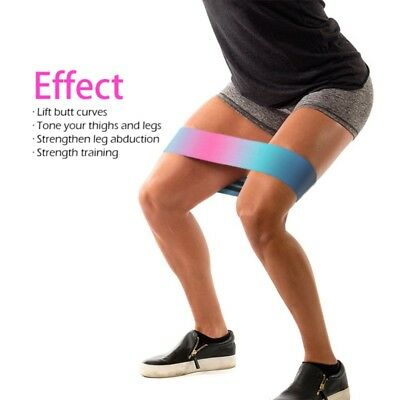 AU Resistance Hip Band Squat Glute Booty Yoga Pilates Thighs Strap Fitness