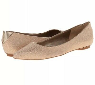 b33888f9af66d4 Sam Edelman Womens Colleen Snake Print Good Pointed Ballet Flats Size 7.5