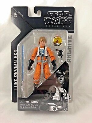 Star Wars - Black Series - 6 Inch - Wave 1 - Archive - Luke Skywalker - Figure