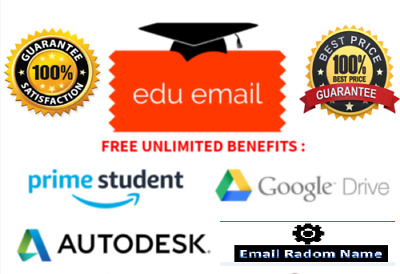 NEW Edu Mail For Amazon Prime 6 months, Google Drive With StudentID, FAST SHIP