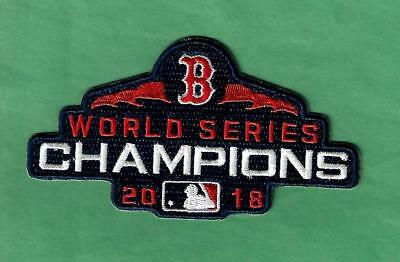 New 2018 Boston Red Sox World Series Champs 2 1/2X 4 1/2 Iron on Patch Free Ship