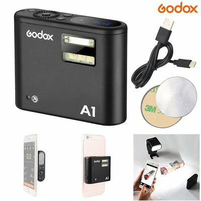 Godox A1 Smartphone Flash X System 2.4G Wireless Flash Trigger For iPhone X 8 7
