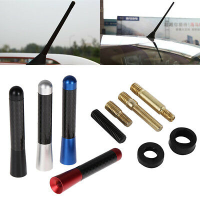 Screw Marine Antenna Welcomed Carbon Fiber Short Stubby Auto Roof  Car Antenna