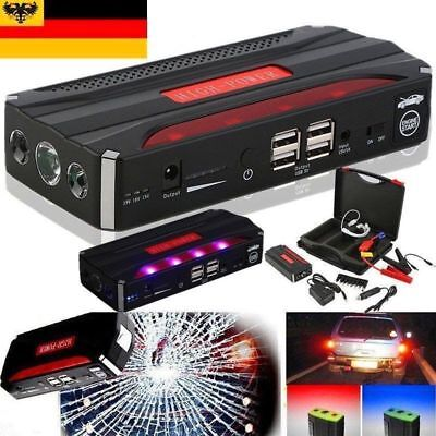 600A 68800mAh Starthilfe Auto Jump Starter Booster Power Bank PC iphone Tragbare