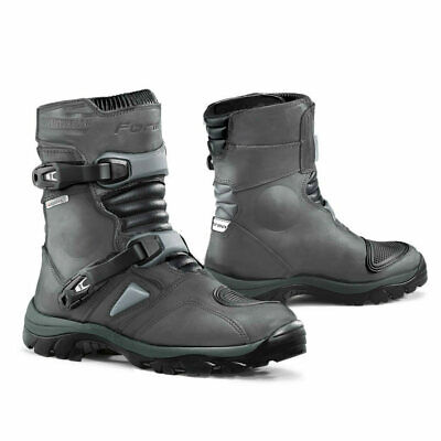 Forma Adventure Low motorcycle boots, mens, grey, unboxed adv road riding