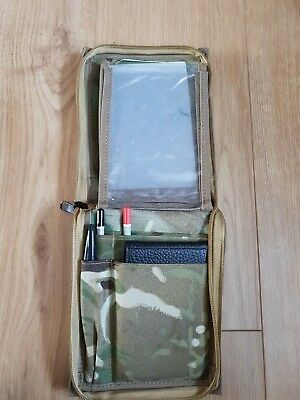 NEW British Army Kammo Tactical MTP Commanders Organiser Set Pouch