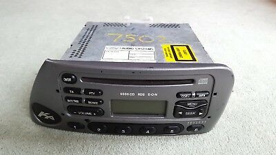 Usedlovely Little Ford Ka Stereo Tuner Cd Radio Unit Car Parts Sf