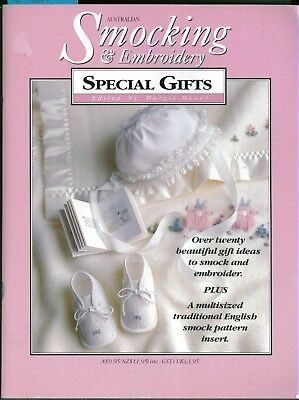 Australian Smocking & Embroidery SPECIAL GIFTS  HUGE LIST/GET BACKCOPIES copy2