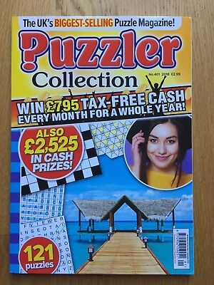 PUZZLER COLLECTION - No 401 - 2018 - 121 Puzzles - BRAND NEW & UNUSED