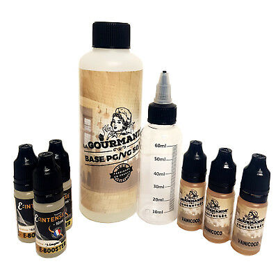 e liquide - Pack diy complet  230 ml - PG50/VG50 3,6,9,12 mg 35 saveurs