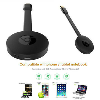 For Google 3nd Generation Chromecast 3 Digital Video Streamer For Phone Windows