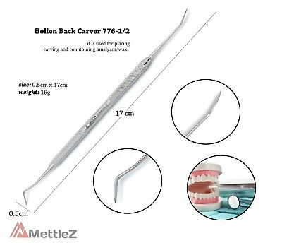 Clinical Dentist Hollenback Carver Restorative For Waxing & Modeling Spatula Lab