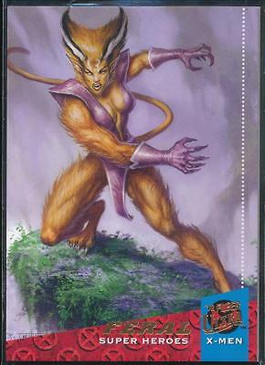 2018 Fleer Ultra X-Men Trading Card #36 Feral